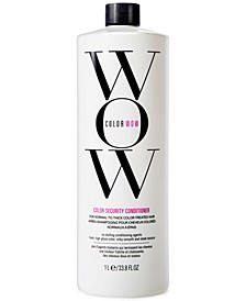 Color Security Conditioner For Normal-To-Thick Hair, 33.8-oz., from PUREBEAUTY Salon & Spa