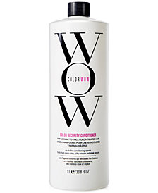 COLOR WOW Color Security Conditioner For Normal-To-Thick Hair, 33.8-oz., from PUREBEAUTY Salon & Spa