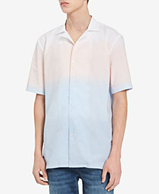 Calvin Klein Men's Ombré Striped Shirt