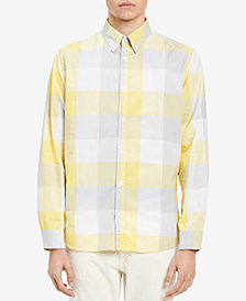 Calvin Klein Jeans Men's Grindle Buffalo Check Shirt