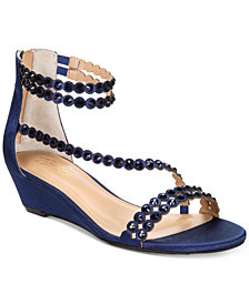 Thalia Sodi Tachani Wedge Dress Sandals, Created For Macy's