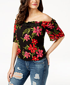 GUESS Bellatrix Off-The-Shoulder Top