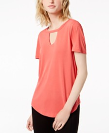 Bar Iii Choker T Shirt Created For Macy S