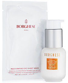 Receive a free Restore Your Radiance Gift with any $50 Borghese Purchase