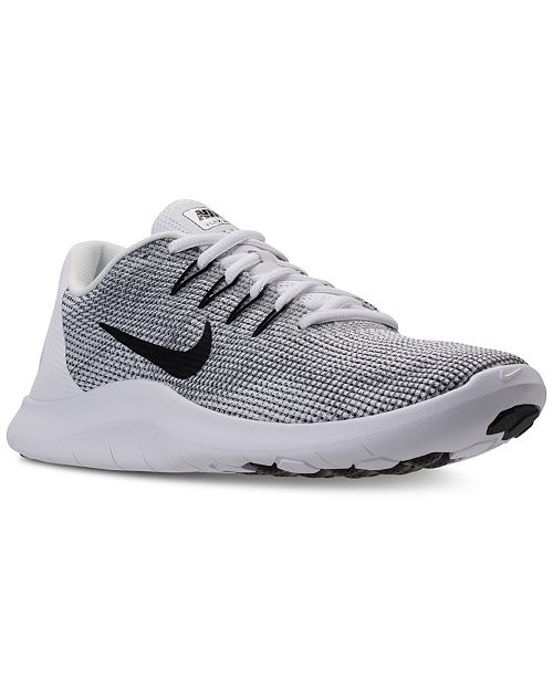 b6719221a7f610 Nike Men s Flex Run 2018 Running Sneakers from Finish Line   Reviews ...