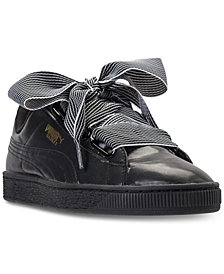 Puma Women's Basket Heart Casual Sneakers from Finish Line