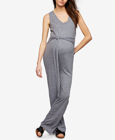 A Pea In The Pod Maternity Jersey Jumpsuit