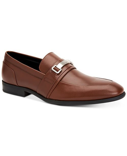 Calvin Klein Reyes (Tan Nappa) Mens Shoes New Arrival Quality Outlet Store Official Site Online Rn2WMyw