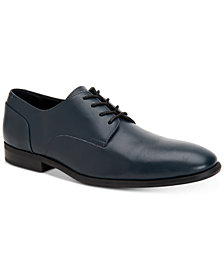 Calvin Klein Men's Lucca Leather Dress Shoes