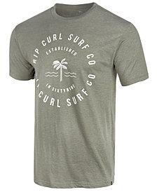 Rip Curl Men's Terrace Heather Logo-Print T-Shirt