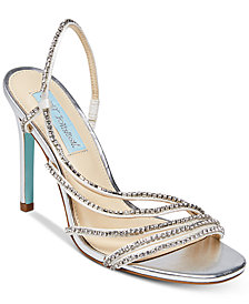 Blue by Betsey Johnson Aces Evening Sandals