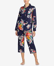 Lauren Ralph Lauren Seaside Classic Printed Pajama Set