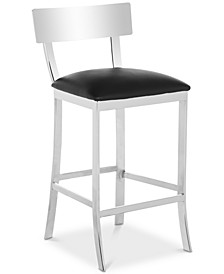 Sidonia Faux Leather Counter Stool