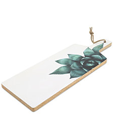 CLOSEOUT! Thirstystone Wood & Enamel Succulent Paddle Board
