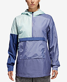 adidas ID Colorblocked Half-Zip Windbreaker