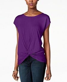 INC Twist-Front Top, Created for Macy's