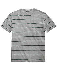 Calvin Klein Jeans Men's Heathered Striped T-Shirt