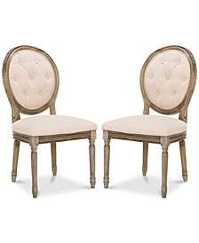 Claudius Side Chair (Set Of 2), Quick Ship