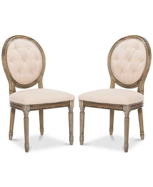 Safavieh Claudius Side Chair (Set Of 2)