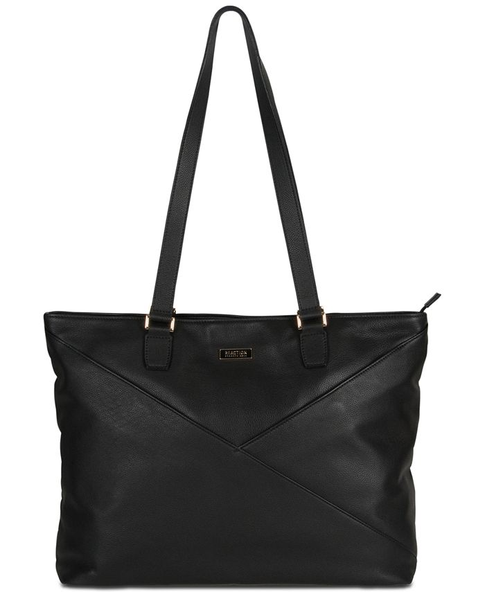 """Kenneth Cole Reaction - McGote 15"""" Leather Computer Business Tote"""