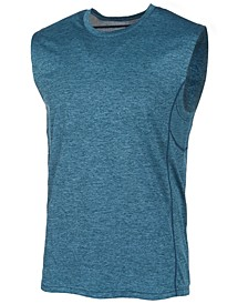 Men's Mesh-Trimmed Sleeveless T-Shirt, Created for Macy's