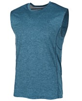 aa88249f97f ID Ideology Men's Mesh-Trimmed Sleeveless T-Shirt, Created for Macy's