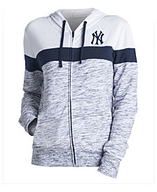 5th & Ocean Women's New York Yankees Space Dye Hoodie