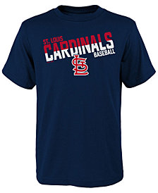 Outerstuff St. Louis Cardinals All Meshed Up T-Shirt, Big Boys (8-20)