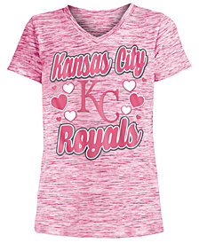 5th & Ocean Kansas City Royals Spacedye T-Shirt, Girls (4-16)