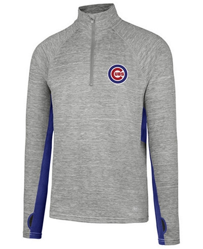 '47 Brand Men's Chicago Cubs Evolve Quarter-Zip Pullover