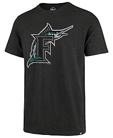 '47 Brand Men's Florida Marlins Scrum Logo T-Shirt
