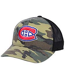 adidas Montreal Canadiens Camo Trucker Cap