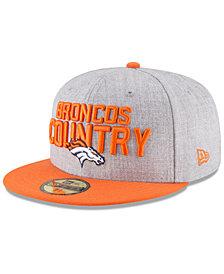 New Era Boys' Denver Broncos Draft 59FIFTY FITTED Cap