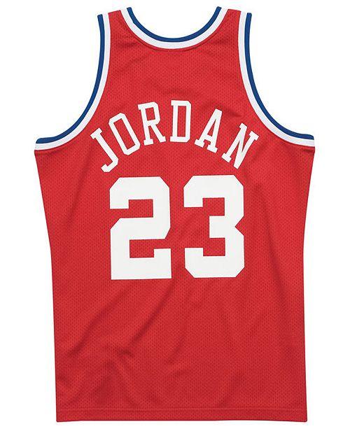 new concept f7bfe 3648a Men's Michael Jordan NBA All Star 1989 Authentic Jersey