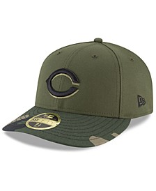 Cincinnati Reds Low Profile AC Performance 59FIFTY Fitted Cap