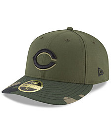 New Era Cincinnati Reds Low Profile AC Performance 59FIFTY Fitted Cap
