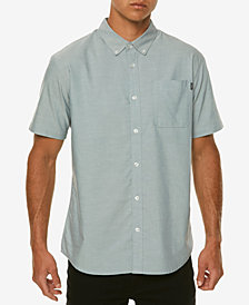 O'Neill Men's Banks Slim-Fit Stretch Oxford Pocket Shirt