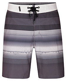 "Hurley Men's Phantom Gaviota Stripe 18"" Board Shorts"