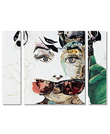 Ines Kouidis 'Audrey' Large Multi-Panel Wall Art Set