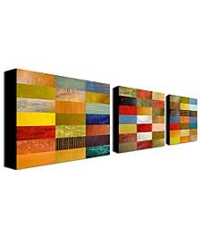 """Michelle Calkins 'Eye Candy' Canvas Art Set - 32"""" x 24"""""""