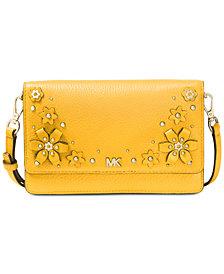 MICHAEL Michael Kors Flower Garden Phone Wallet Crossbody