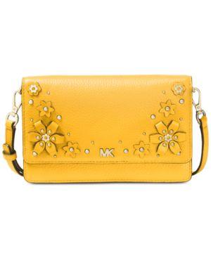 Michael Michael Kors Flower Garden Small Phone Wallet Crossbody 5855692