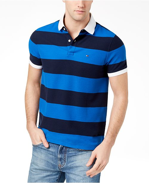 Tommy Hilfiger Men's Kenan Striped Polo, Created for Macy's