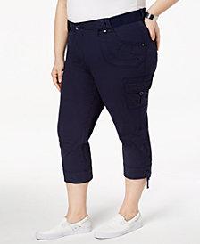 Lee Platinum Plus Size Cropped Cargo Pants