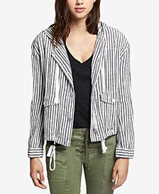 Sanctuary Nova Linen Hooded Jacket