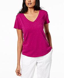 Eileen Fisher Organic Cotton T-Shirt, Regular & Petite