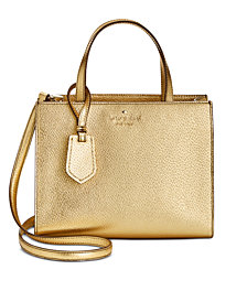 kate spade new york Metallic Sam Small Satchel