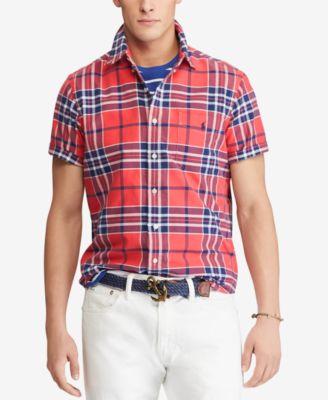 Ralph Lauren Men's Plaid Shirts