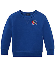 Polo Ralph Lauren Toddler Boys CP-93  Crew-Neck Fleece Sweatshirt