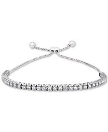 Wrapped in Love™ Diamond Bolo Bracelet (3/4 ct. t.w.) in 14k White Gold (Also available in 14k Gold or Rose Gold)